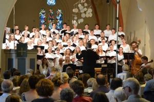 Choralchor St. Johannes in Blankenhagen, 20. Juli 2016