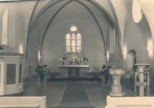 Kirche Blankenhagen - 1960er nach der Sanierung - Bild 2
