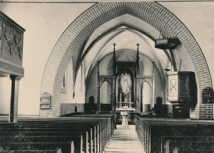 Innenraum Kirche Blankenhagen Altzustand
