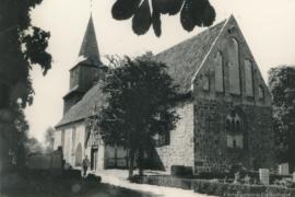 Kirche Blankenhagen - Außenansicht 1958