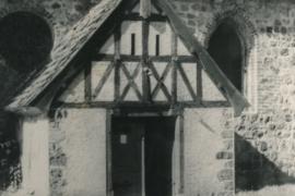 Kirche Blankenhagen - Außenansicht 1958 - Bild 2