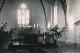 Kirche Blankenhagen - 1960er nach der Sanierung