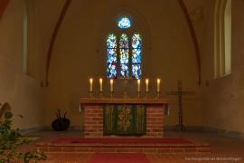 Kirche Blankenhagen - Altarraum