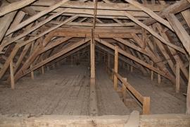 Boden der Kirche Blankenhagen