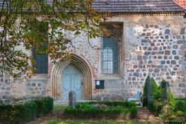 Kirche Blankenhagen - Eingang