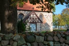 Kirche Blankenhagen - Eingang zum Chorraum