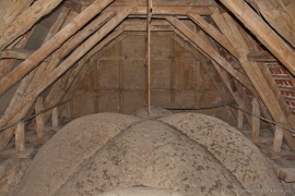 Kirche Blankenhagen - Gewölbe