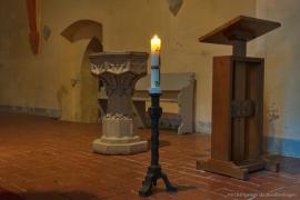 Kirche Blankenhagen - Osterkerze