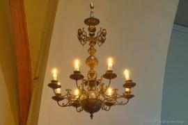 Kirche Blankenhagen - Kronleuchter