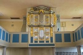 Kirche Blankenhagen - Orgel