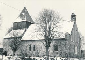 Kirche Dänschenburg - Außenansicht
