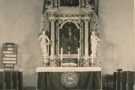 Kirche Dänschenburg - Altar 2