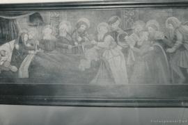 Kirche Dänschenburg - Wandbild