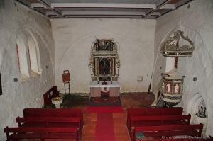 Kirche Dänschenburg - Altar