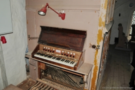 Orgel Dänschenburg - Spieltisch