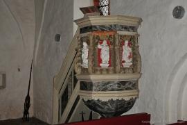 Kirche Dänschenburg - Kanzel