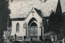 Kirche Gelbensande - Außenansicht von 1958