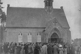 Kirche Gelbensande - Weihe 1925