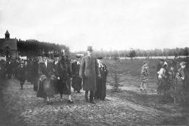 Kirche Gelbensande - Weihe 1925 - Bild 2