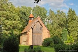 Kirche Gelbensande - Seitenansicht