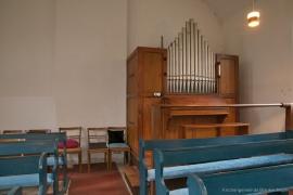 Kirche Gelbensande - Orgel