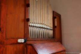 Kirche Gelbensande - Großansicht Orgel