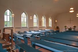 Kirche Gelbensande - Kirchenschiff