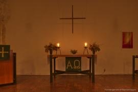 Kirche Gelbensande - Altar 2