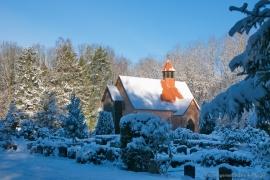 Kirche Gelbensande - im Winter
