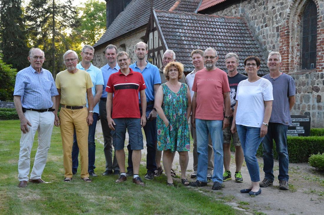 Mitglieder des Fördervereins zur Unterstützung der Kirchengemeinde Blankenhagen e. V.